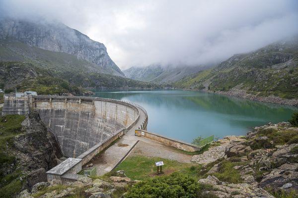 Lac des Gloriettes dans les Hautes-Pyrénées, secteur de l'accident