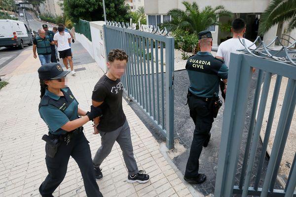 Les cinq hommes ont été arrêtés le mercredi 7 août par la guardia civil espagnole