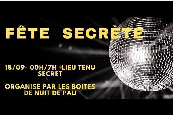 Sept discothèques de la région de Pau organisent une fête secrète pour alerter sur leur profession en danger