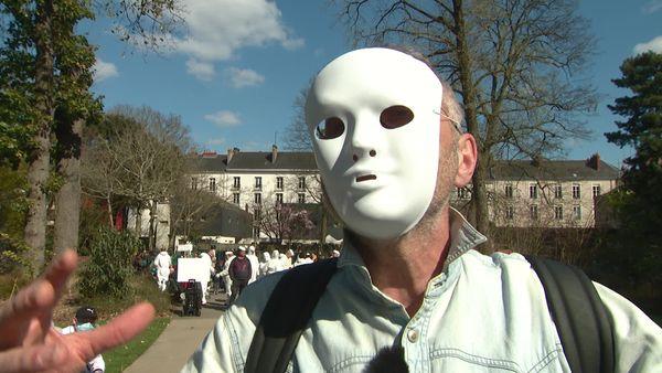Le référent des Masques Blancs en Pays de la Loire