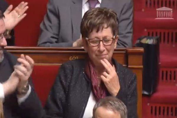 Dernier jour à l'Assemblée pour Emilienne Poumirol