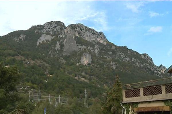 Le village de Roquebillère, dans la vallée de la Vésubie