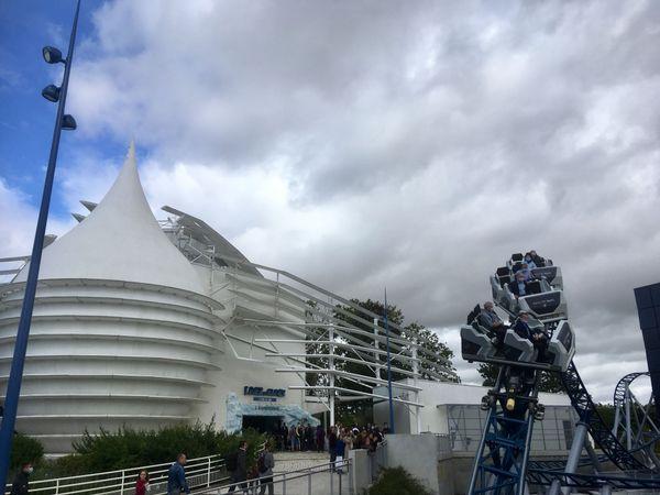 La nouvelle attraction Objectif Mars est l'une des plus attendues par les visiteurs du Futuroscope.