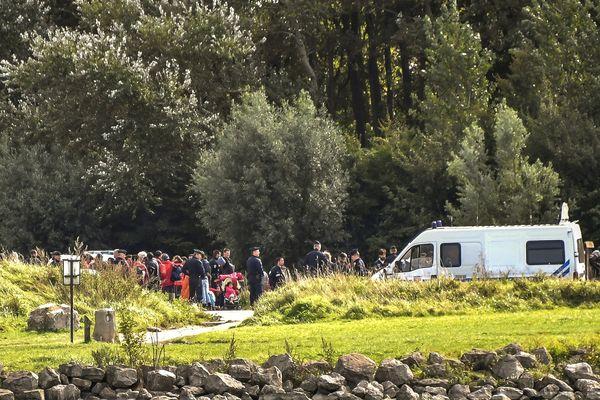 Le camp du Puythouck. (Illustration)