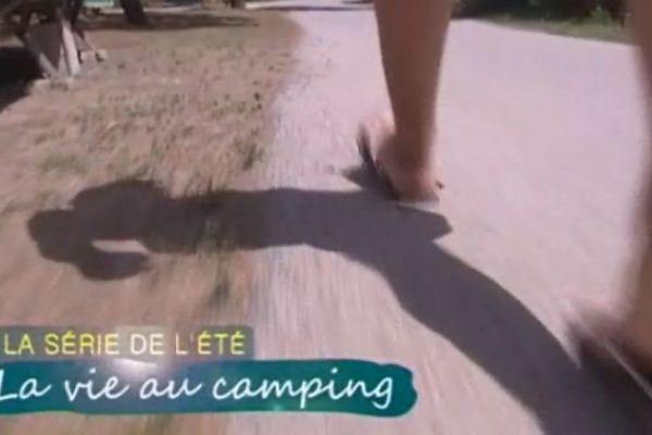 Chaque semaine sur notre antenne,  une nouvelle série de l'été : voici celle sur la vie au camping.  cigales, tongues qui claquent, animations qui détonent, familles qui ronronnent ...