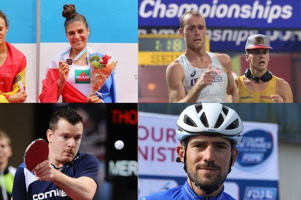 Margaux Bailleul, Kevin Campion, Florian Merrien et Benoit Cosnefroy participeront aux Jeux Olympiques et Paralympiques de Tokyo.