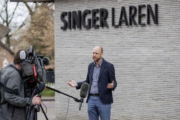 Evert van Os, directeur général du musée Singer Laren, a annoncé le vol du tableau ce lundi.