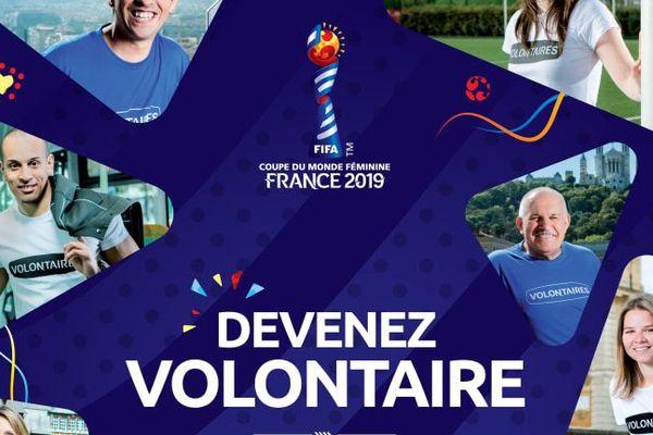 Devenir volontaire pour la Coupe du monde en 2019, c'est possible.