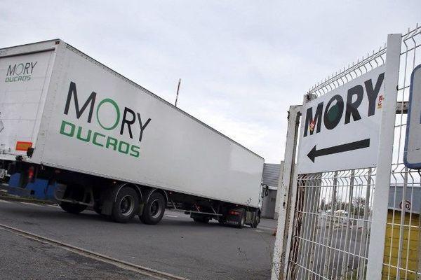 MoryGlobal (ex-Mory Ducros) à Gonesse (Val-d'Oise), en 2013
