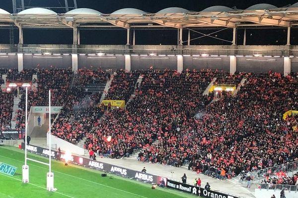 Le stadium faisant le plein de spectateurs toulousains : une image mise à mal par les matches disputés à huis-clos ou carrément reportés selon les compétitions.