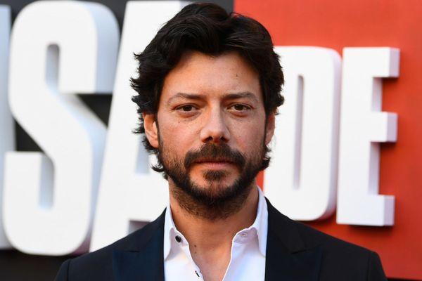 "El Profesor interprété par l'acteur espagnol Alvaro Morte dans la série ""La Casa de Papel"""
