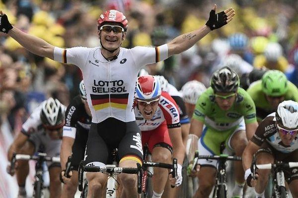 L'Allemand André Greipel s'était imposé lors de la dernière arrivée d'étape à Reims en 2014.