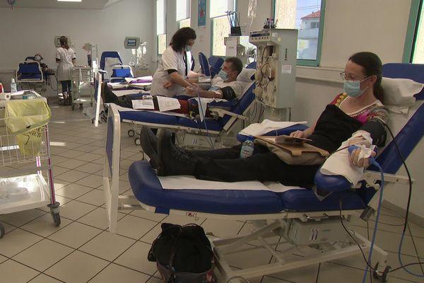 Questionnaire, prise de sang et collation : donner son sang demande moins d'une heure.