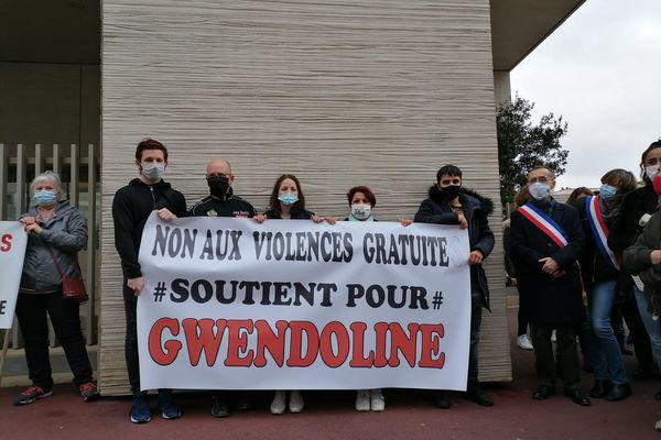 Gwendoline a indiqué aux policiers qu'elle ne connaissait pas ses agresseuses.