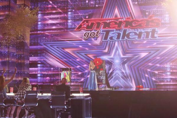 """Léa Kyle, originaire de Saint-Sulpice-et-Cameyrac, s'est quallidié pour les quarts de finale de """"Americans got talent""""."""