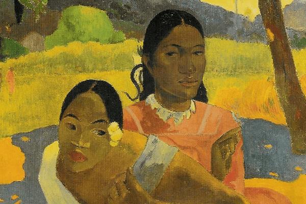 """Quand te maries-tu ?"", toile de Paul Gauguin peinte à Tahiti."