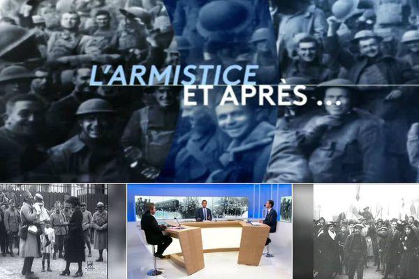 """Emission spéciale centenaire de la Grande Guerre """"1918, la fin des combats l'Armistice et après ..."""""""