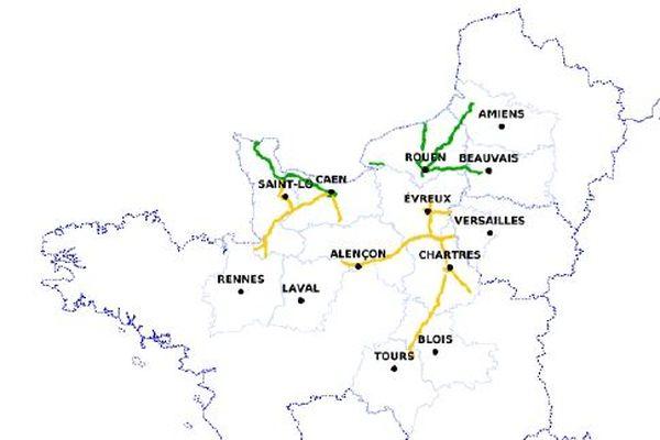 neige et verglas : la circulation en Normandie ce mercredi 10 février au matin