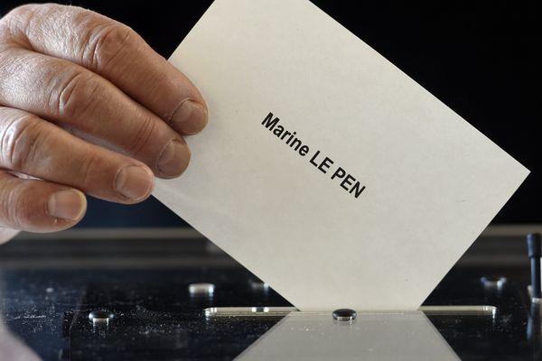 À Rennes, Marine Le Pen n'a obtenu que 6,70 % des suffrages lors du premier tour de l'élection présidentielle 2017.