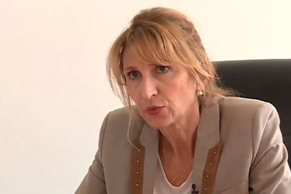 La directrice départementale de l'ARS, Maritxu Blanzaco