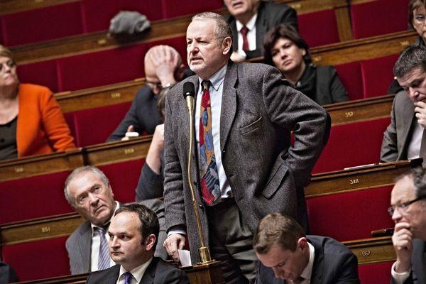 Dominique Raimbourg à l'Assemblée Nationale, le 26 mars 2013