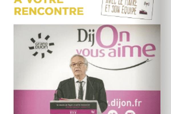 François Rebsamen s'aime autant que Dijon vous aime