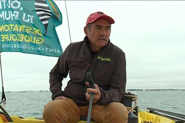 Dimanche 4 novembre 2018, Charlie Capelle, Bob Escoffier et Jean-Paul Froc, vont reprendre la mer avec les bateaux de la Route du Rhum 1978