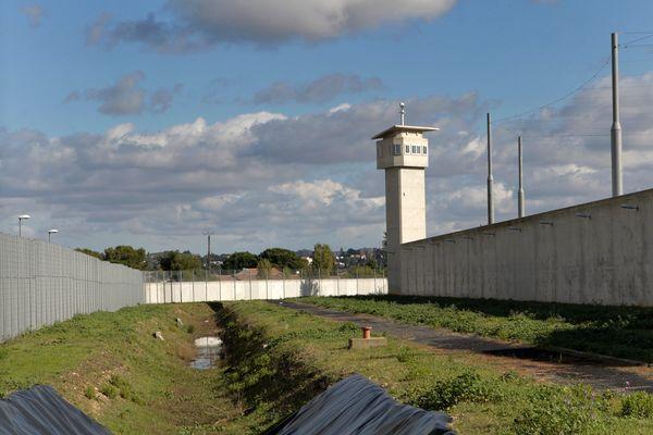 Le centre pénitentiaire de Béziers, dans l'Hérault