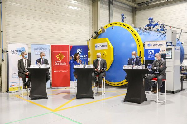La présidente de région Carole Delga a détaillé ce nouveau plan d'aide, mardi 24 novembre.