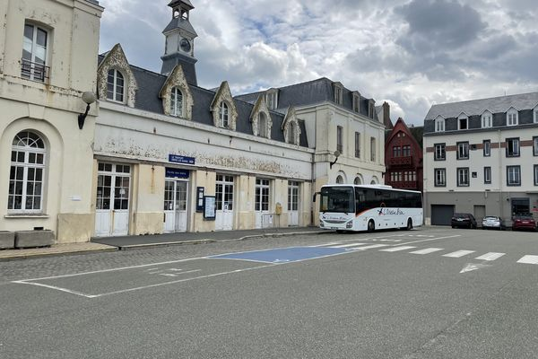 La gare du Tréport