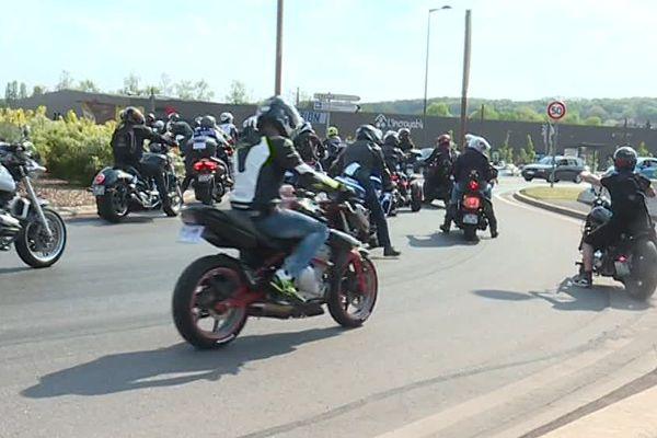 Des motards en colère