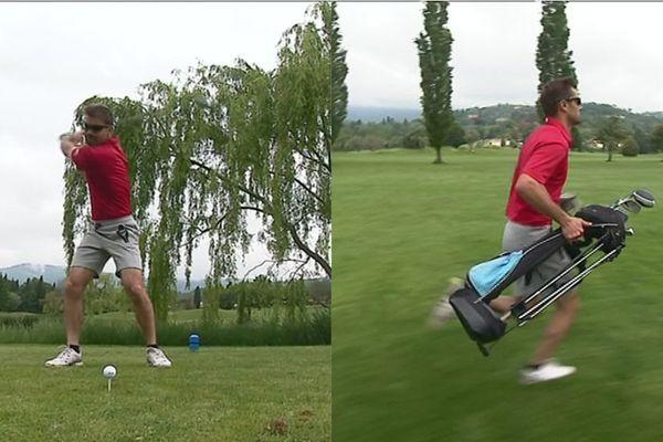 Le speed golf, c'est du golf au pas de course !