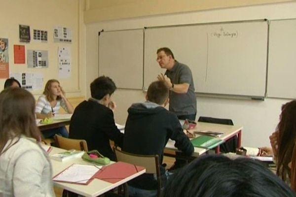 salle de cours (image d'archive) -  concours 2014 éducation nationale recrutement des enseignants