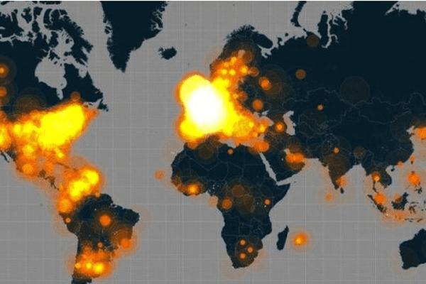 le hashtag #JeSuisCharlie est entré dans l'Histoire avec un pic de mention de plus de 6500 tweet / minutes le mercredi 7 janvier au soir. Du jamais vu.