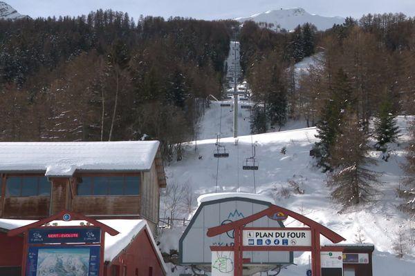 La station de ski des Karellis, en Savoie, le 20 janvier 2021.