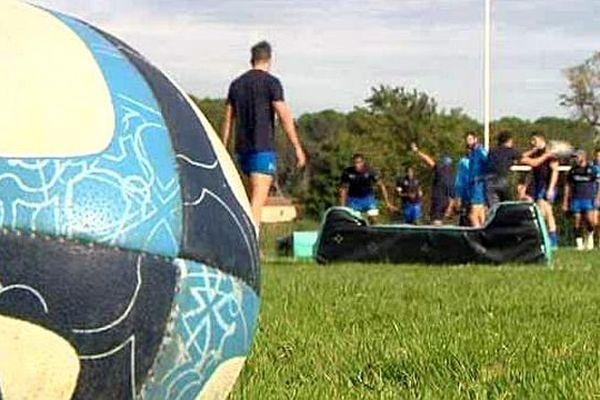 Jacou (Hérault) - le MHR à l'entraînement - archives