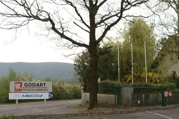Le site Godart SA de Fumay (Ardennes)