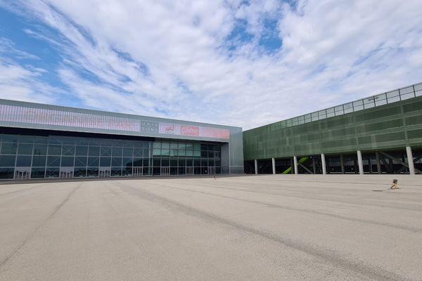 L'esplanade du Meett, le parc des expos situé à Aussonne près de Toulouse où se dérouleront les 3 concerts en juillet 2021.