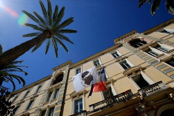 La Collectivité de Corse, à Ajaccio