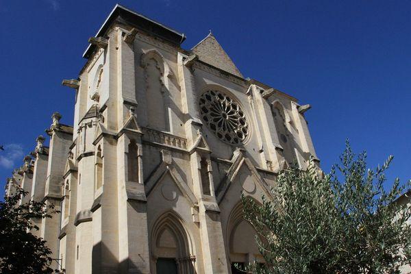 Eglise Saint-Roch de Montpellier / illustration