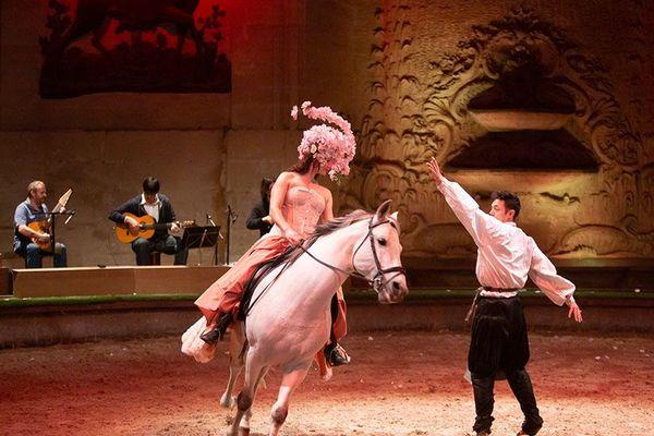 Photo d'illustration d'un des spectacles du Domaine de Chantilly qui a été présenté dans les Grandes Ecuries.