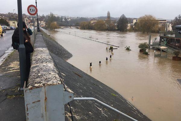 Comme en mars dernier, la montée des eaux a été impressionnante dans le département