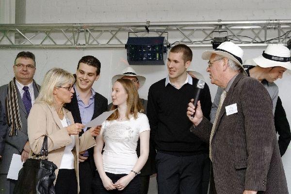 L'équipe du Lycée Edouard Gand d'Amiens a été primée dans 3 catégories différentes