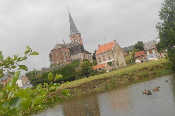 Photo envoyée par Alex le 19 juillet dans l'Avesnois