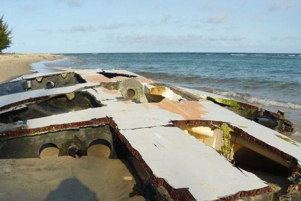 L'épave du navire Bastide Otio a été retrouvé sur une plage de Madagascar