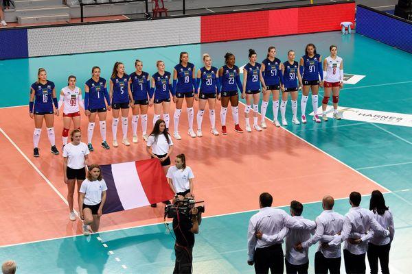 Les bleues ont l'habitude de séjourner à Belfort pour préparer leurs compétitions. L'enjeu est fort cette semaine: se qualifier pour les Championnats d'Europe de cet été.