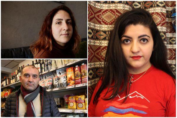 Nariné Voskanyan, Haykaz Avetisyan et Anush Grigoryan sont tous les trois arrivés d'Arménie à Poitiers il y a un peu plus de dix ans. Depuis la reprise du conflit armé au Haut-Karabakh le 27 septembre, ils se mobilisent pour aider l'Arménie et alerter la communauté internationale.