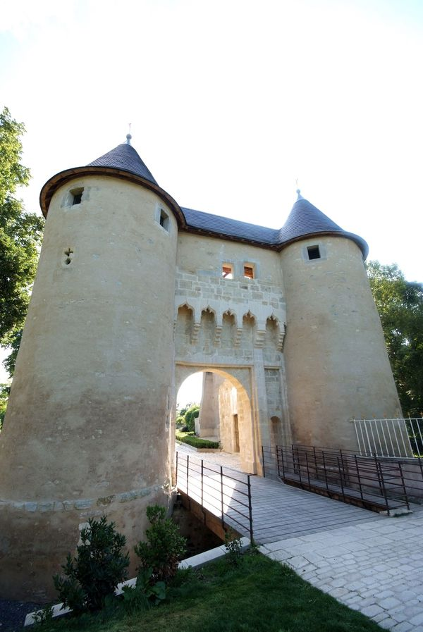 Vic-sur-Seille - Porte du Château (1)