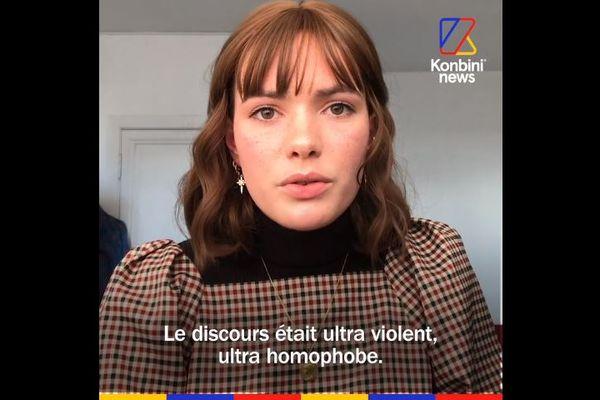 Eléonore a décidé de reprendre le contrôle sur le coming-out qu'on lui a imposé en faisant le sien, avec ses mots, sur Konbini, en février 2021.