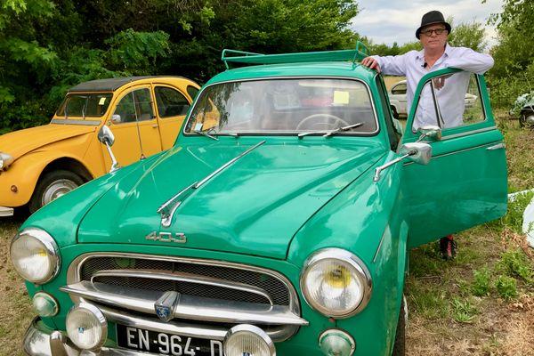 Hervé Moinel vend sa collection aux enchères, 42 autos populaires des années 1950 à 70